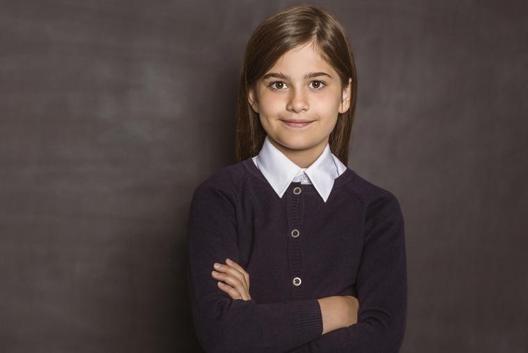 Foto de una niña